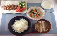 鶏のごま味噌焼き定食